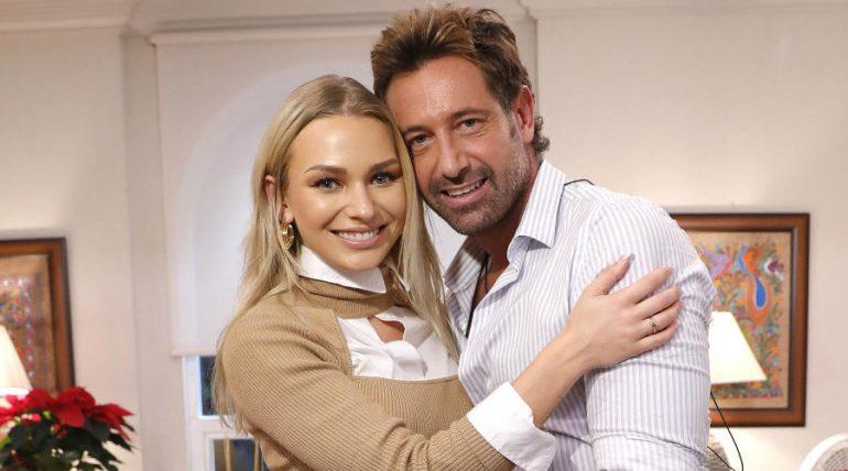 Gabriel Soto e Irina Baeva. Foto: José Luis Ramos
