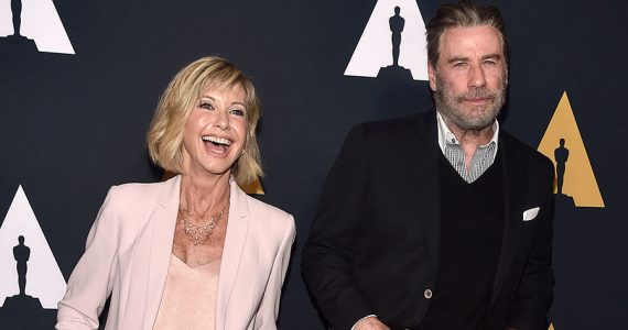 John Travolta y Olivia Newton-John | Foto: Getty Images