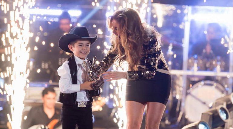 Lucero y Roberto. Foto: La Voz Kids