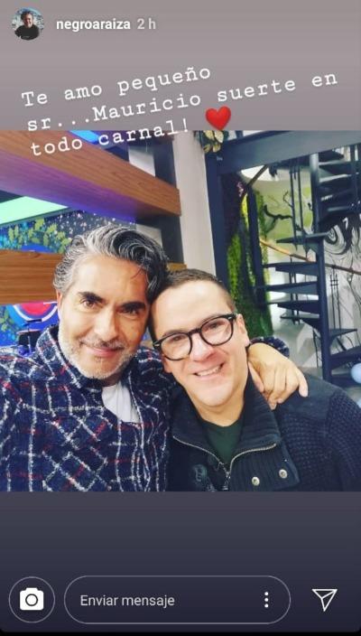 Mauricio Mancera y Raúl Araiza. Foto: Instagram