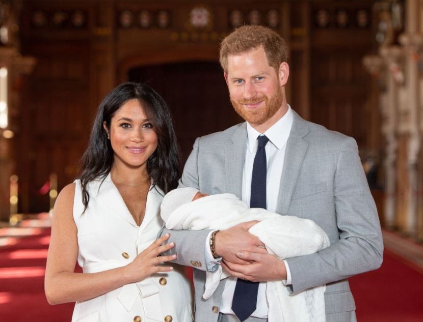 Meghan Markle, Archie y el príncipe Harry | Foto: Getty Images