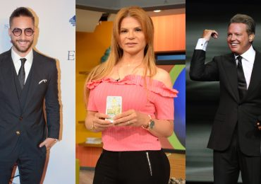 Maluma, Mohni Vidente, Luis Miguel. Fotos: Archivo /Ricardo Cristino /Getty Images