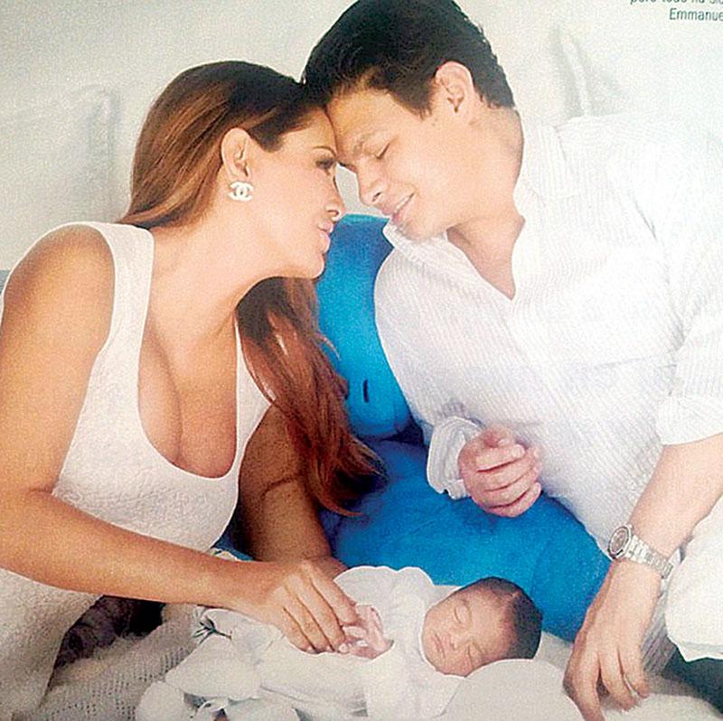Ninel Conde y su bebé | Foto: Archivo