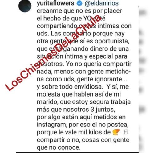 Yuridia envía mensaje a críticos de su esposo. Foto: Instagram