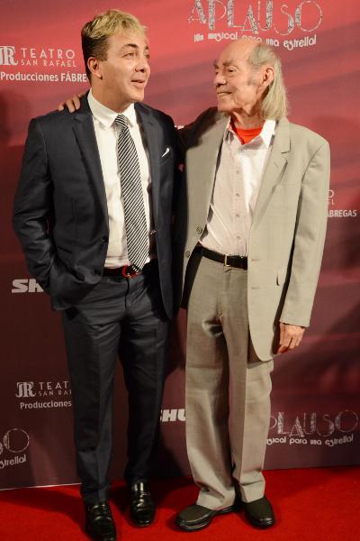 Cristian Castro y Manuel 'El Loco' Valdés. Foto: Ricardo Cristino