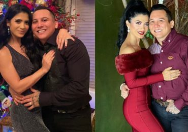 Edwin Luna y Kimberly Flores. Foto: Instagram