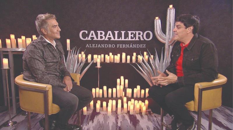 Alejandro Fernández y Jessie Cervantes   Foto: Cortesía Jessie Cervantes