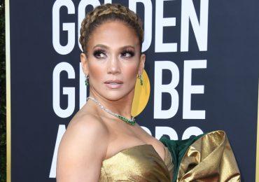 Jennifer Lopez en los Golden Globes 2020. Foto: Getty Images