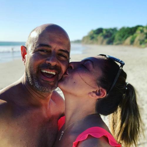 Mariana Ochoa y Mauricio Vaca. Instagram @soymarianaochoa