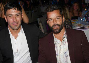 Jwan Yosef y Ricky Martin. Foto: Getty Images