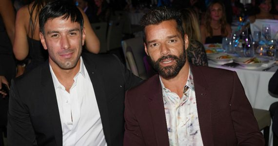 Jwan Yosef y Ricky Martin. Foto: Getty Images
