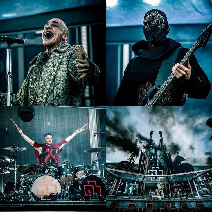 Rammstein se presentará en México el 26 y 27 de septiembre. Fotos: Instagram @rammsteinofficial
