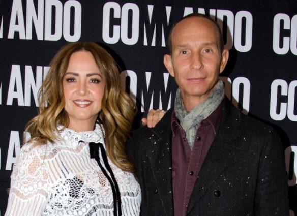 Andrea Legarreta y Érik Rubín. Foto: Javier Arellano