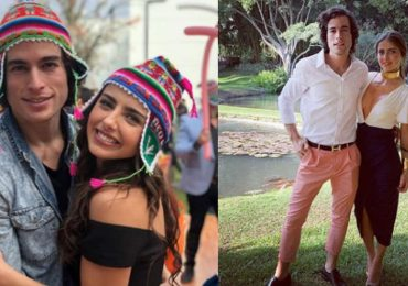Michelle Renaud y Danilo Carrera. Foto: Instagram
