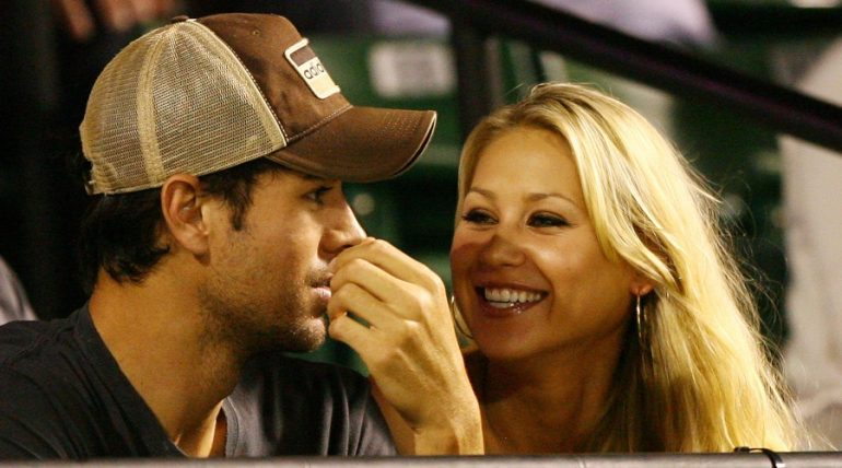 Enrique Iglesias y Anna Kournikova | Foto: Getty Images