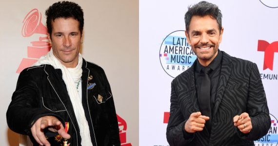 Fernando Carrillo, Eugenio Derbez. Fotos: Getty Images