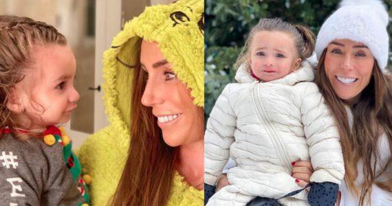 Inés Gómez Mont y su hija María. Foto: Instagram