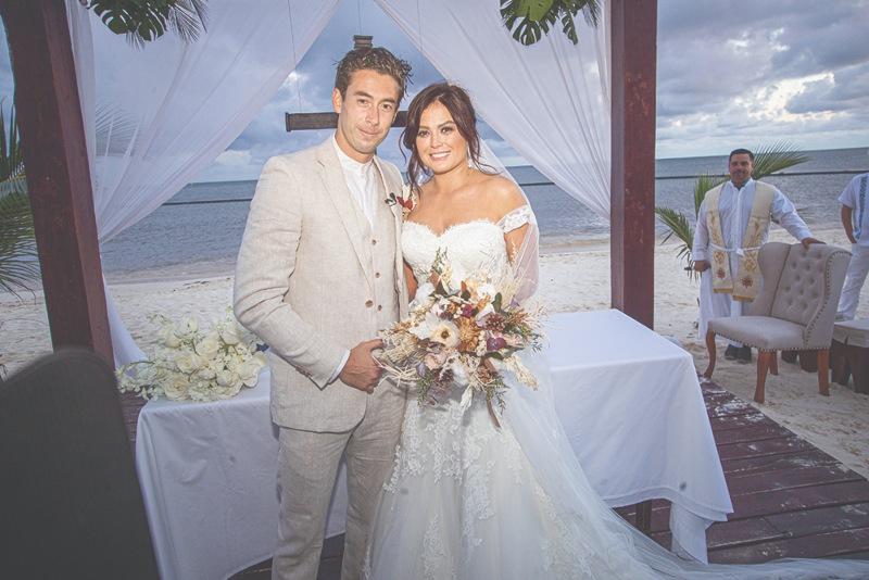 Mariana Echeverría y Óscar Jiménez | Foto. Cortesía