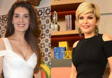 Mayrín Villanueva e Itatí Cantoral. Foto: Archivo TVyNovelas