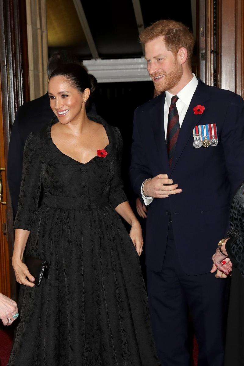 Meghan Markle y Harry   Foto: Getty Images