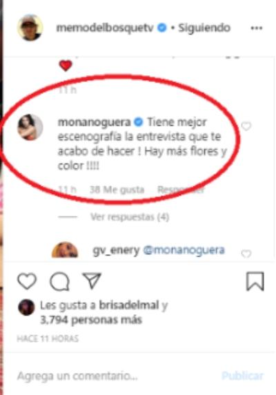 Mónica Noguera. Foto: Instagram