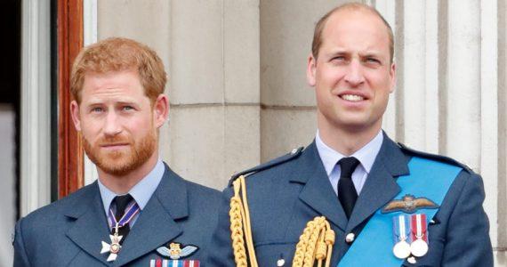 Príncipes Harry y William. Foto: Getty Images