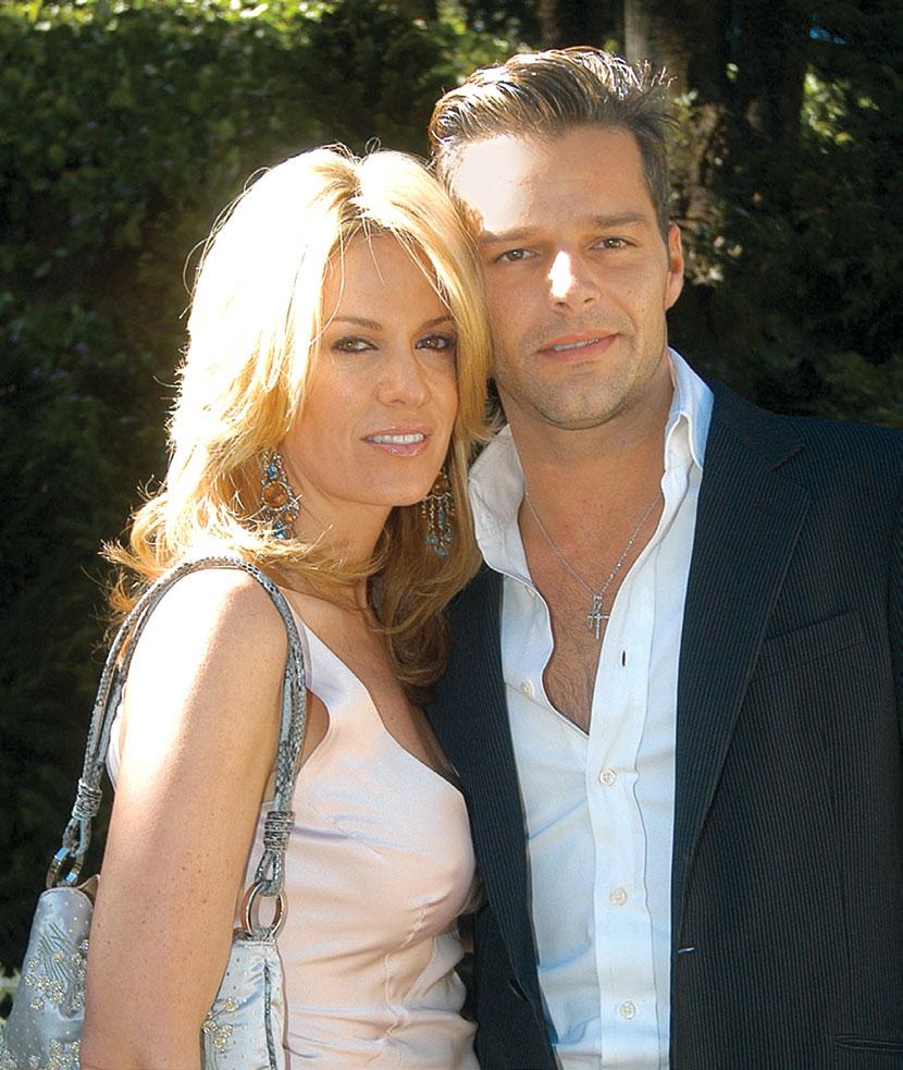 Rebecca de Alba y Ricky Martin | Foto: Rubén Espinosa
