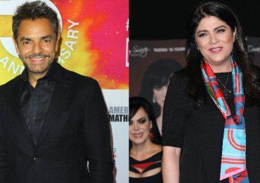 Victoria Ruffo y Eugenio Derbez. Foto: Getty Images