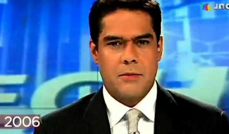 Javier Alatorre sin bigote, en el 2006. Captura de pantalla