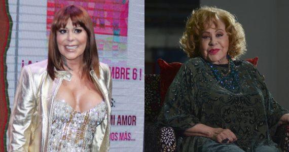Alejandra Guzmán, Silvia Pinal. Foros: Archivo