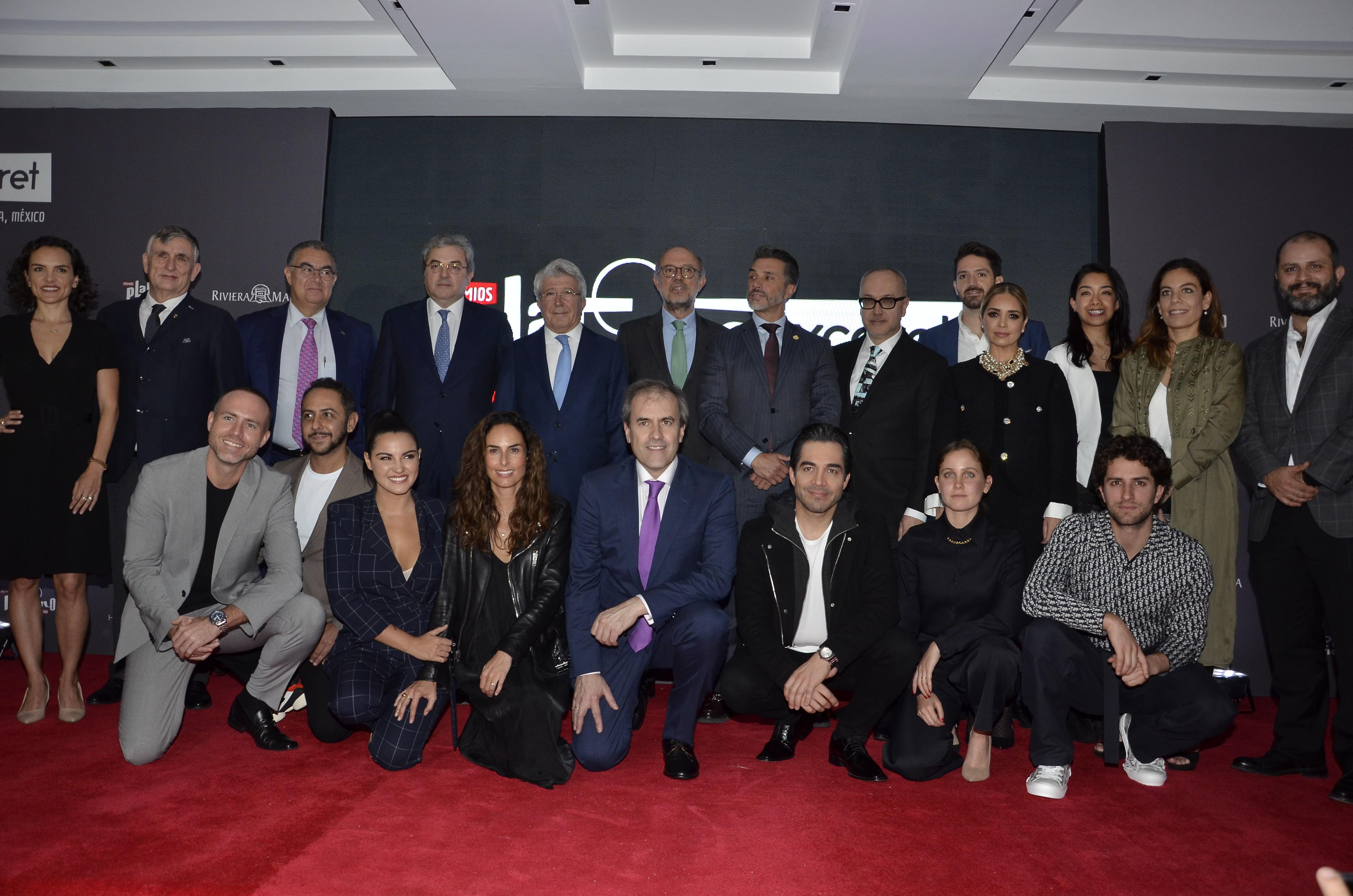 Invitados de presentación Premios Platino Xcaret 2020 / Fotografía de Javier Arellano