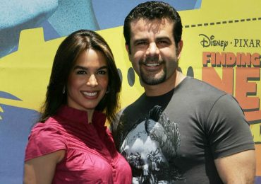 Eduardo Capetillo y Biby Gaytán. Foto: Getty Images