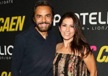 Eugenio Derbez y Alessandra Rosaldo. Foto: Getty Images