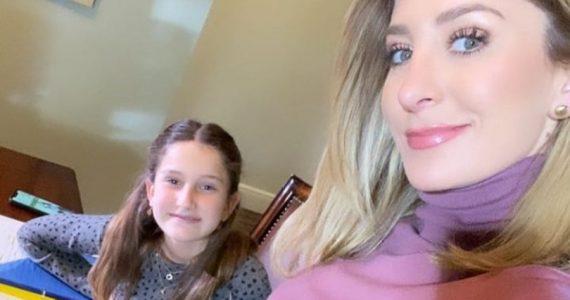 Geraldine Bazán y Elissa Marie. Foto: Instagram @geraldinebazan