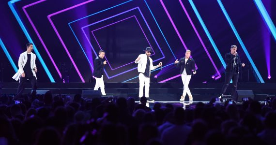 Backstreet Boys regresó a Mexico a los 90. Foto: Getty Images