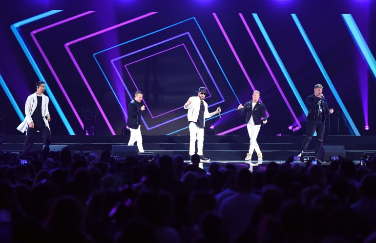 Backstreet Boys regresó a Mexico a los 90. Foto: Getty Images