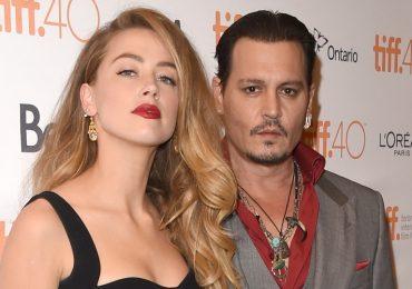Amber Heard y Johnny Depp. Foto: Getty Images