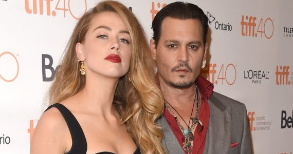 Amber Heard y Johnny Depp. Foto: Getty Images