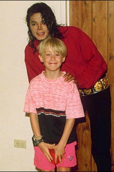 Macaulay Culkin y Michael Jackson sembraron una gran amistad, pese a la diferencia de edades.