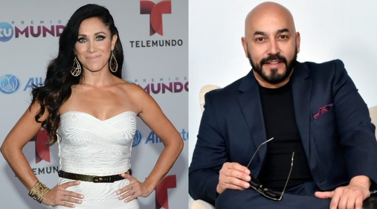Mónica Noguera, Lupillo Rivera. Fotos: Getty Images