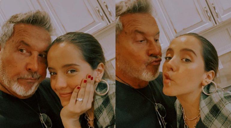 Ricardo y Evaluna Montaner. Foto: Instagram @ricardomontaner