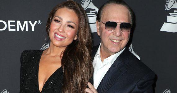 La sorpresa de Thalía para Tommy Mottola en su cumpleaños 71. Foto: Getty Images