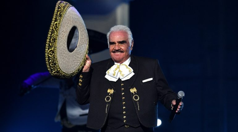 Vicente Fernández. Foto: Getty Images