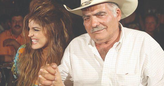 Ana Bárbara y don Antero Ugalde | Foto: Archivo