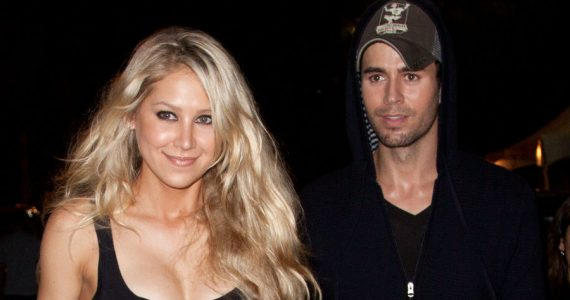 Anna Kournikova y Enrique Iglesias. Foto: Getty Images
