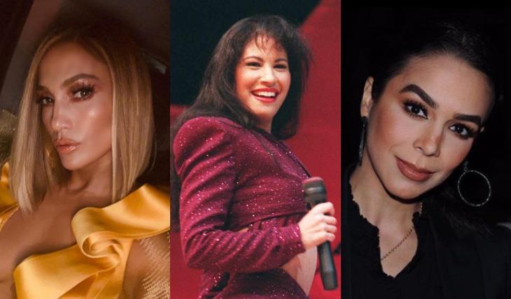 J.Lo, Selena Quintanilla y Biby Gaytán. Foto: Instagram/Archivo