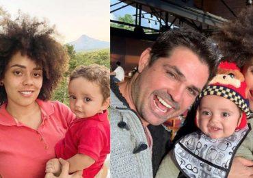 Brenda Kellerman, Tadeo y Ferdinando Valencia. Foto: Instagram