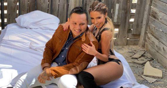 Andrea Escalona y Edwin Luna. Foto: Cortesía