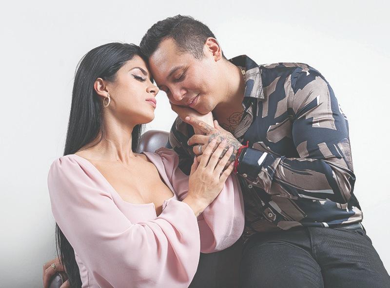 Kimberly Flores y Edwin Luna | Foto: Octavio Lazcano