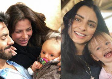 Eugenio, Alessandra, Aislinn Derbez y Kailani. Foto: Instagram